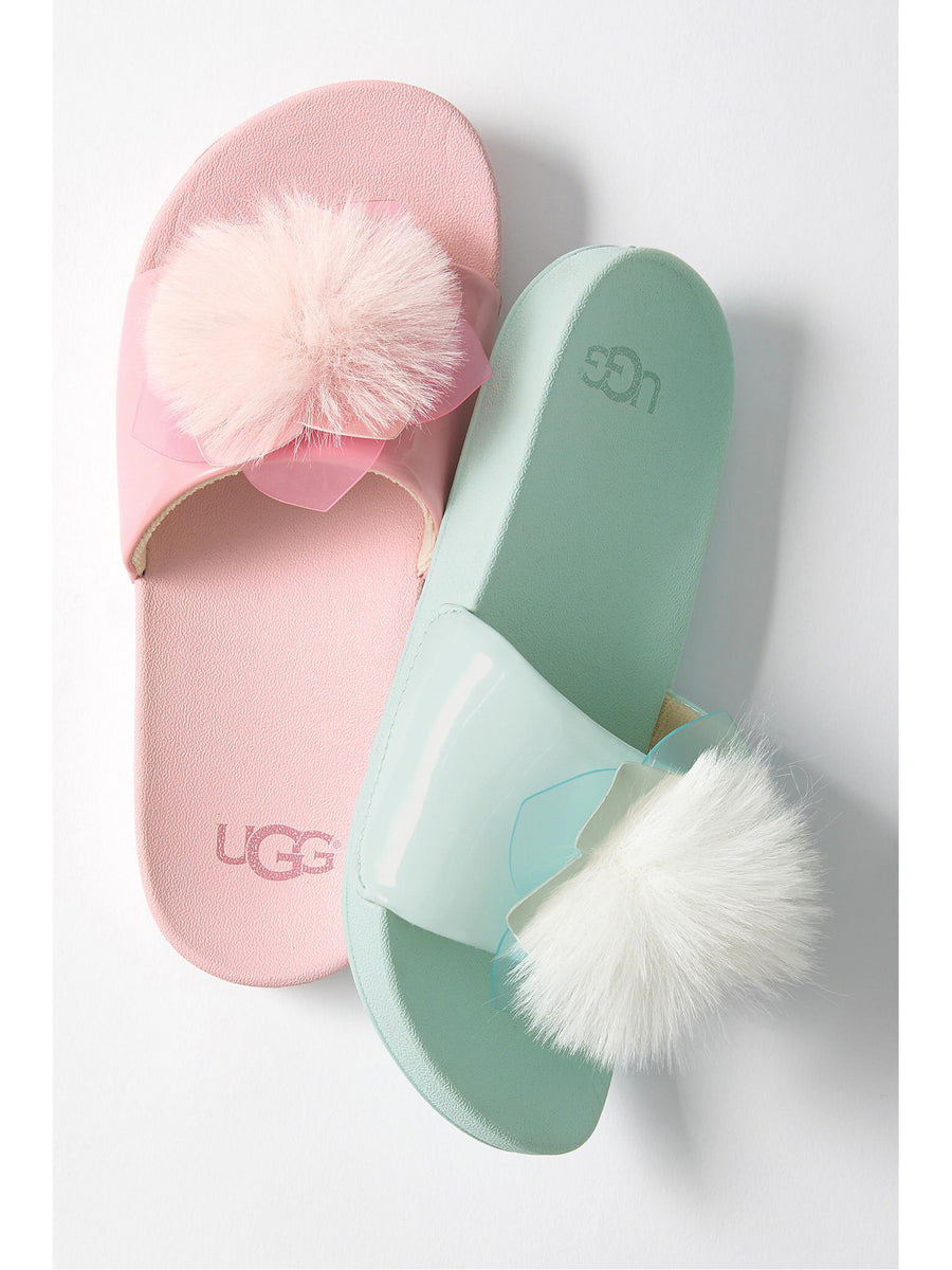 Girls UGG® Cactus Flower Slides