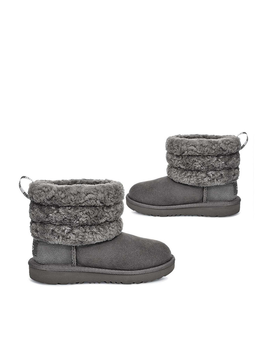 Girls UGG® Fluff Mini Quilted Boots