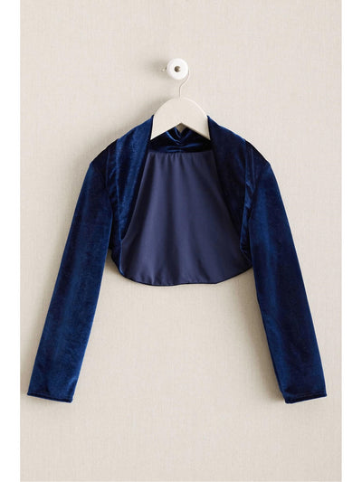 Girls Velvet Dress-Up Shrug  nav 1
