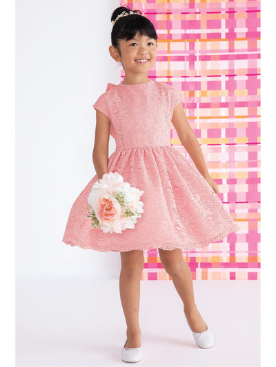 Girls Venice Lace Flourish Dress