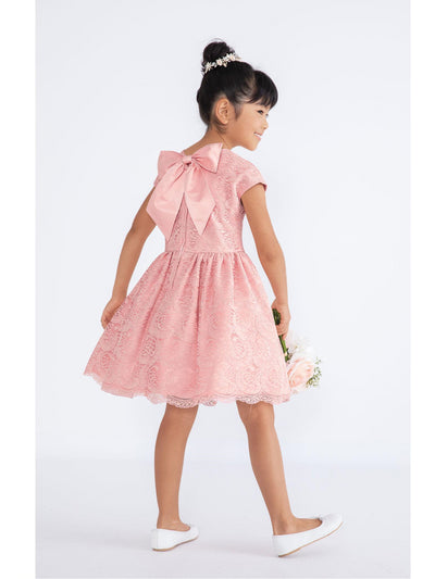 Girls Venice Lace Flourish Dress  pin alt1