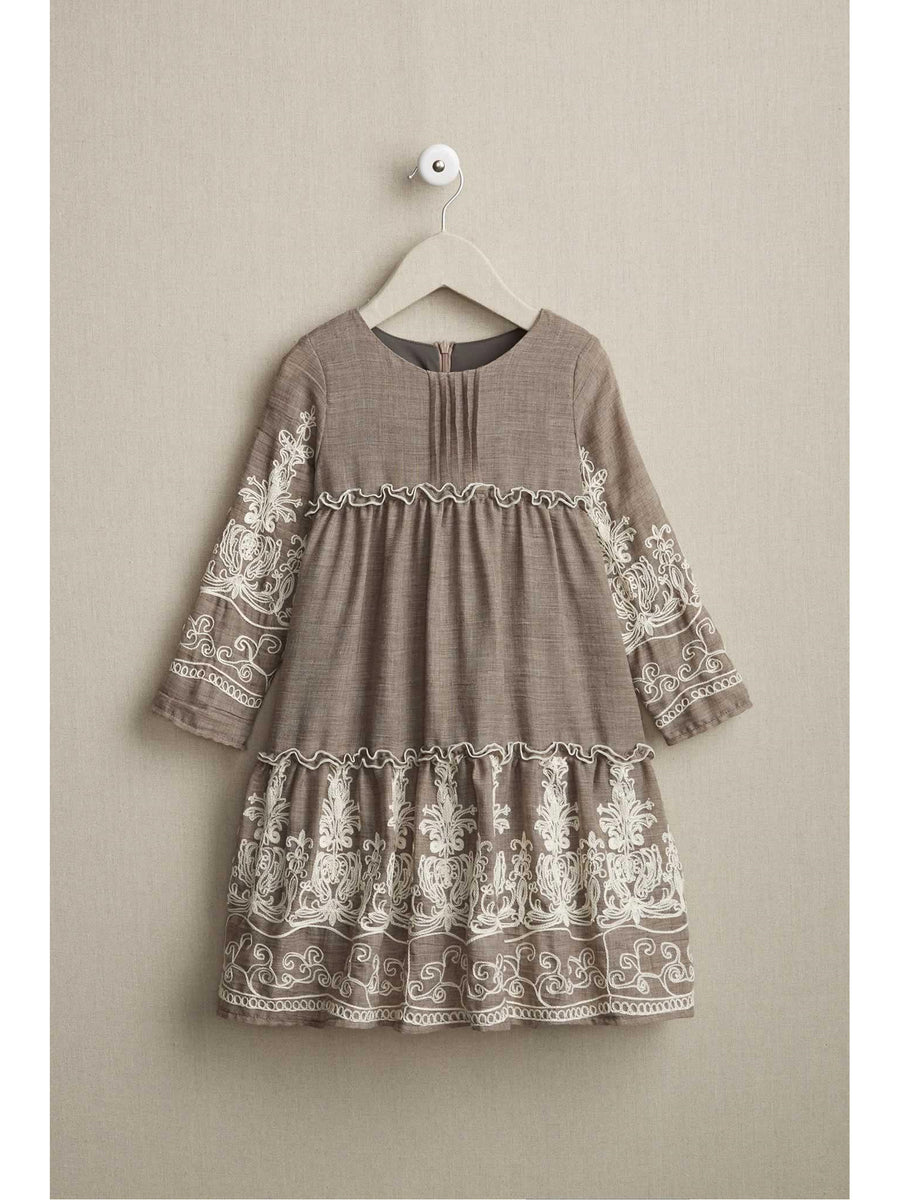 Girls Vintage Ribbon Dress