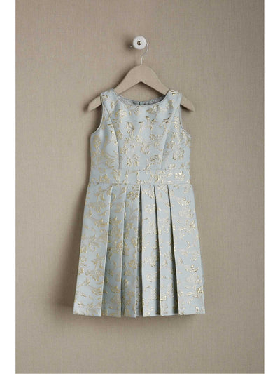 Girls Whisper Brocade Dress