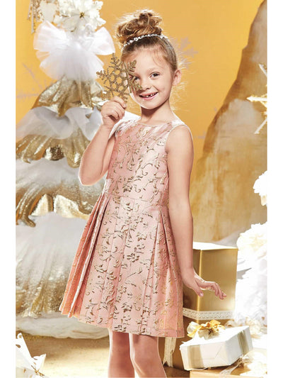 Girls Whisper Brocade Dress  mnt alt1