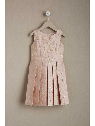 Girls Whisper Brocade Dress  pin 1