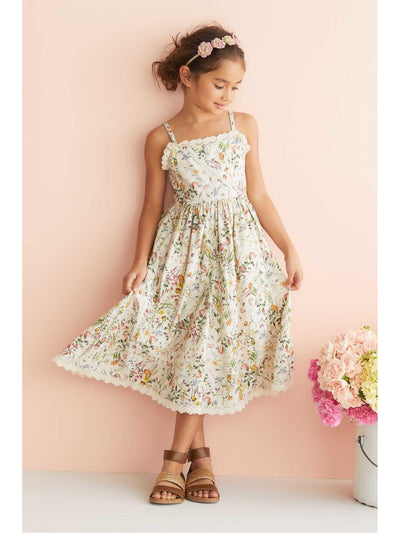Girls Wildflower Dress  ivo alt1