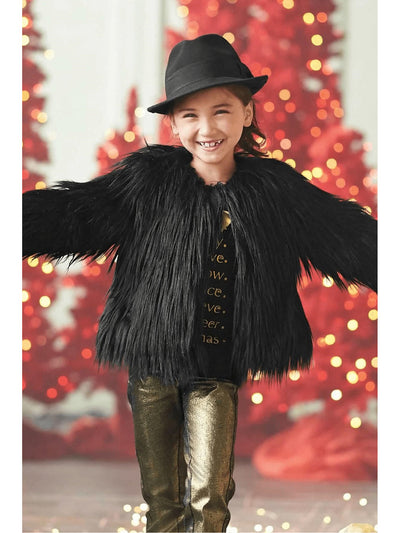 Girls Winter Carnival Jacket  bla alt1