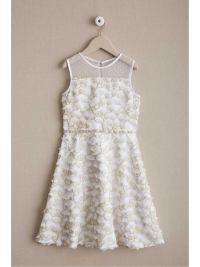 Girls Wispy Flowers Dress
