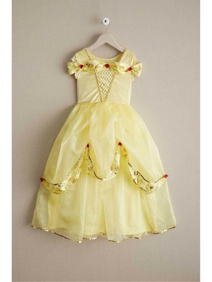 Girls Yellow Beauty Play Dress