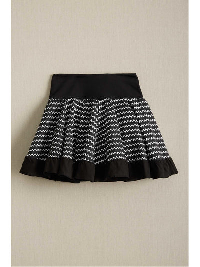 Girls Zigzag Skort