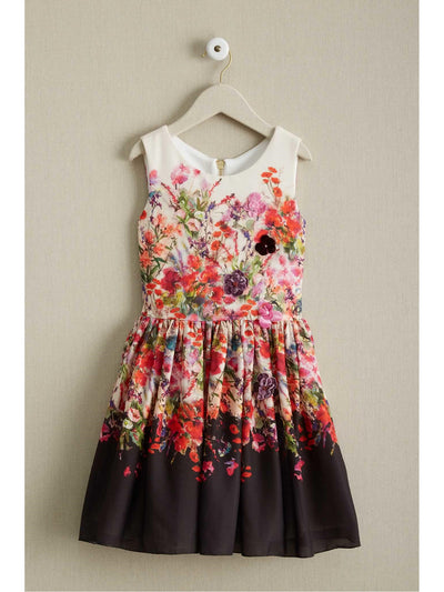 Girls Zoe Bouquet Dress