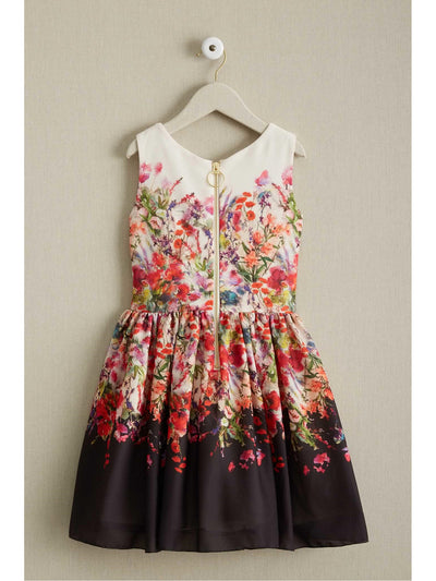 Girls Zoe Bouquet Dress  pur alt2
