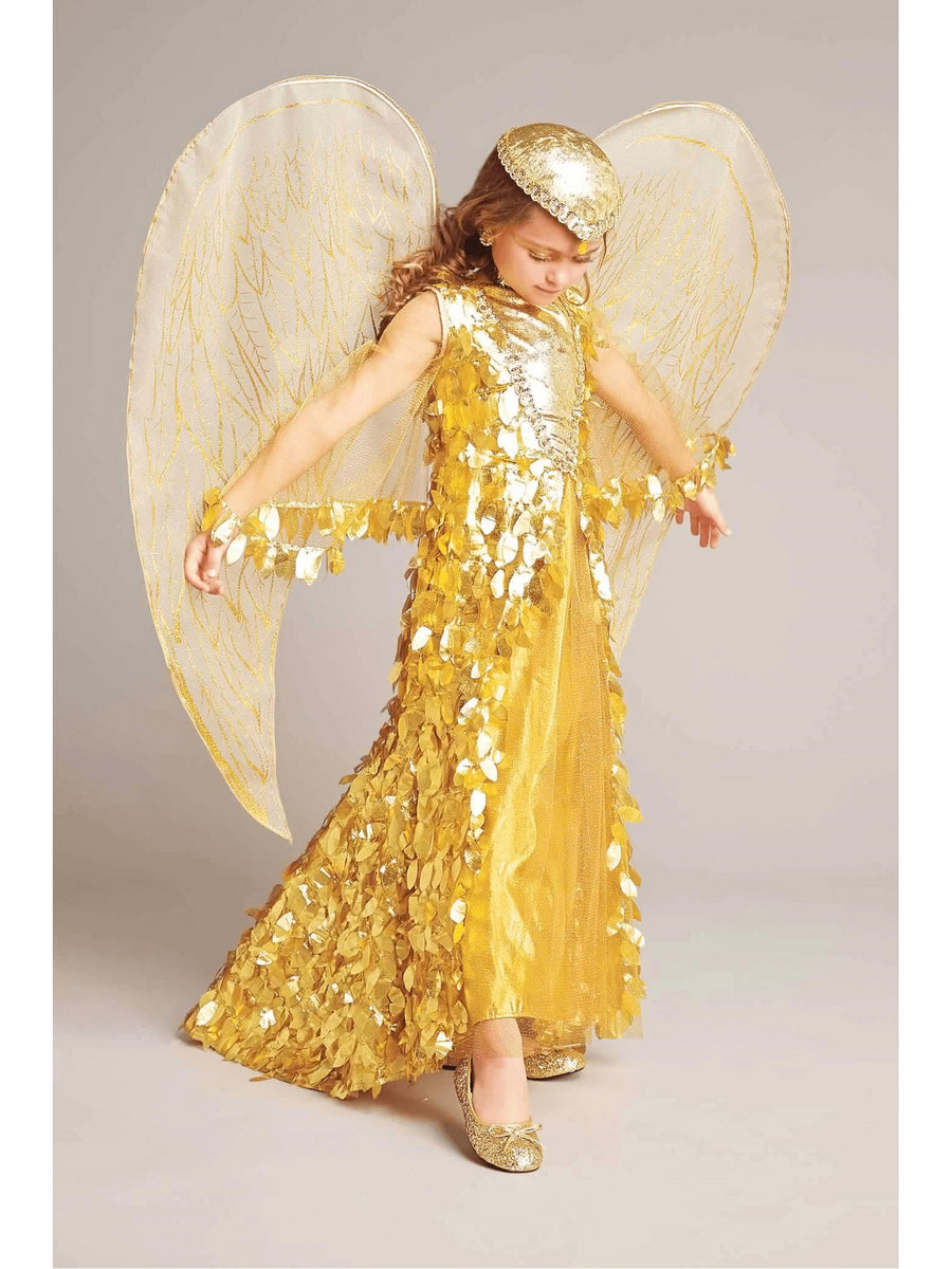 Gold Phoenix Wings