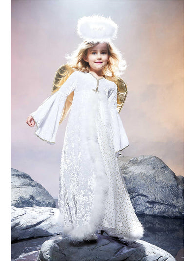 Golden Angel Costume for Girls