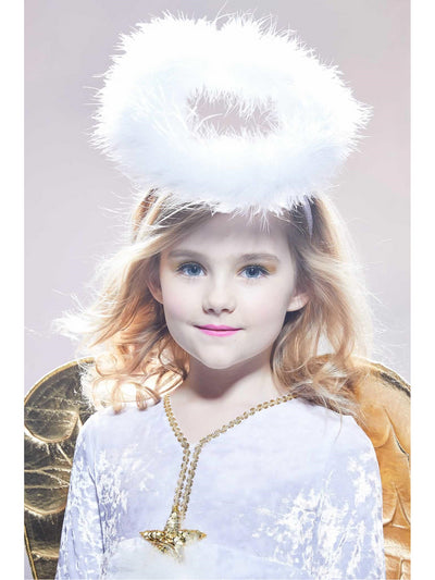 Golden Angel Costume for Girls  whi alt3