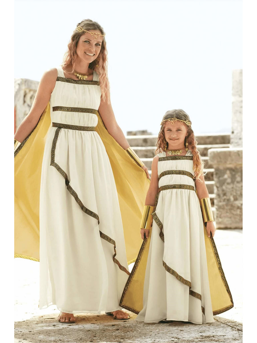 Greek Goddess Costume For Girls