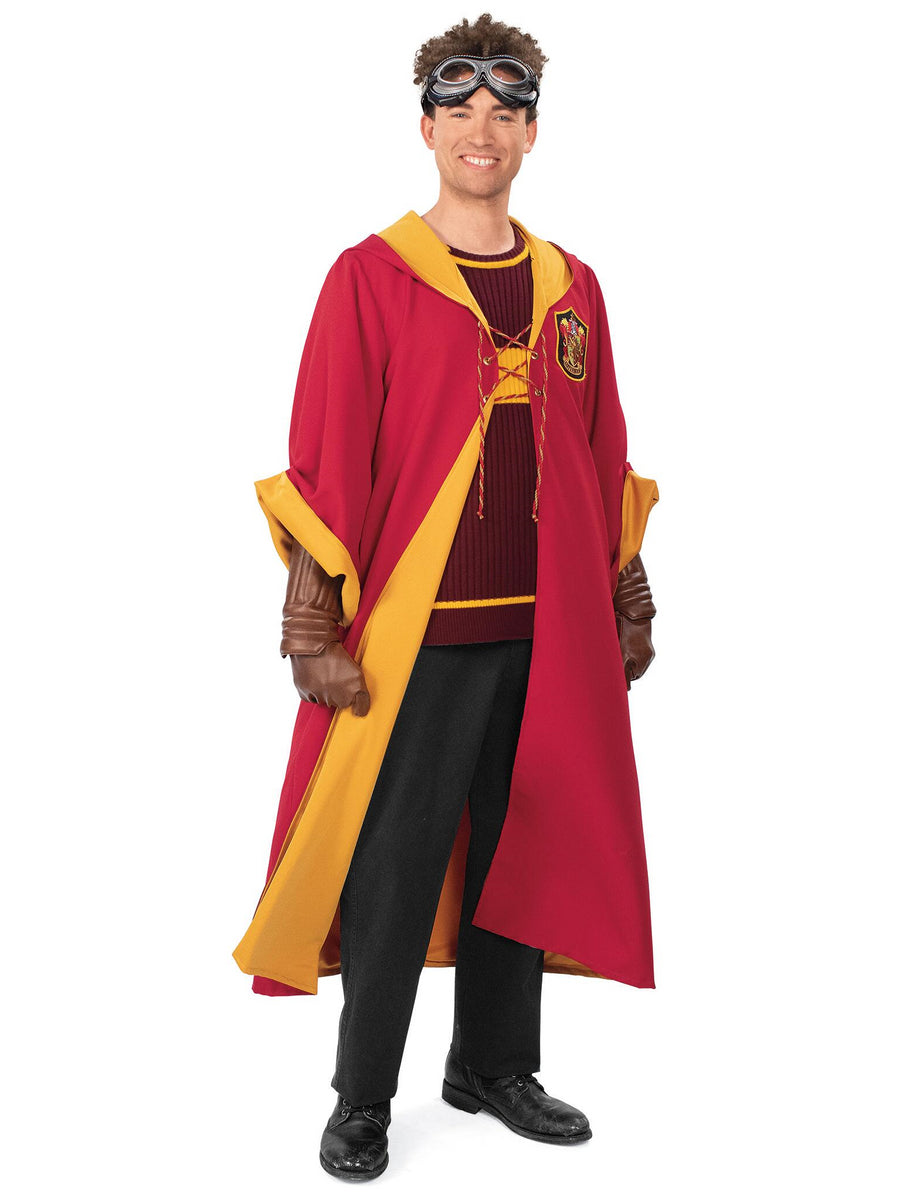 Gryffindor Quidditch Costume for Adults