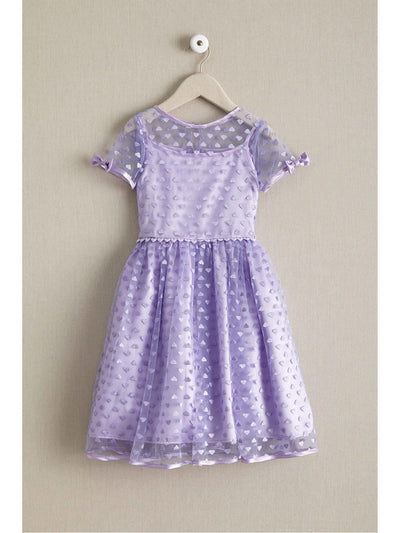 Harajuku Lovers® Girls Embroidered Hearts Dress