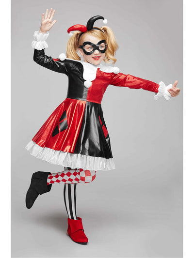 Harley Quinn Costume For Kids - DC Super Hero Girls