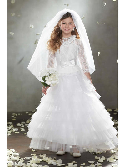 Here Comes The Bride Costume For Girls  whi alt1
