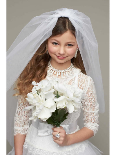 Here Comes The Bride Costume For Girls  whi alt2