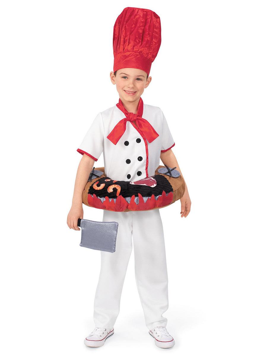 Hibachi Chef Costume for Kids