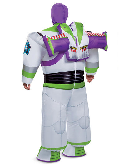 Inflatable Buzz Lightyear Costume for Adults  white alt1