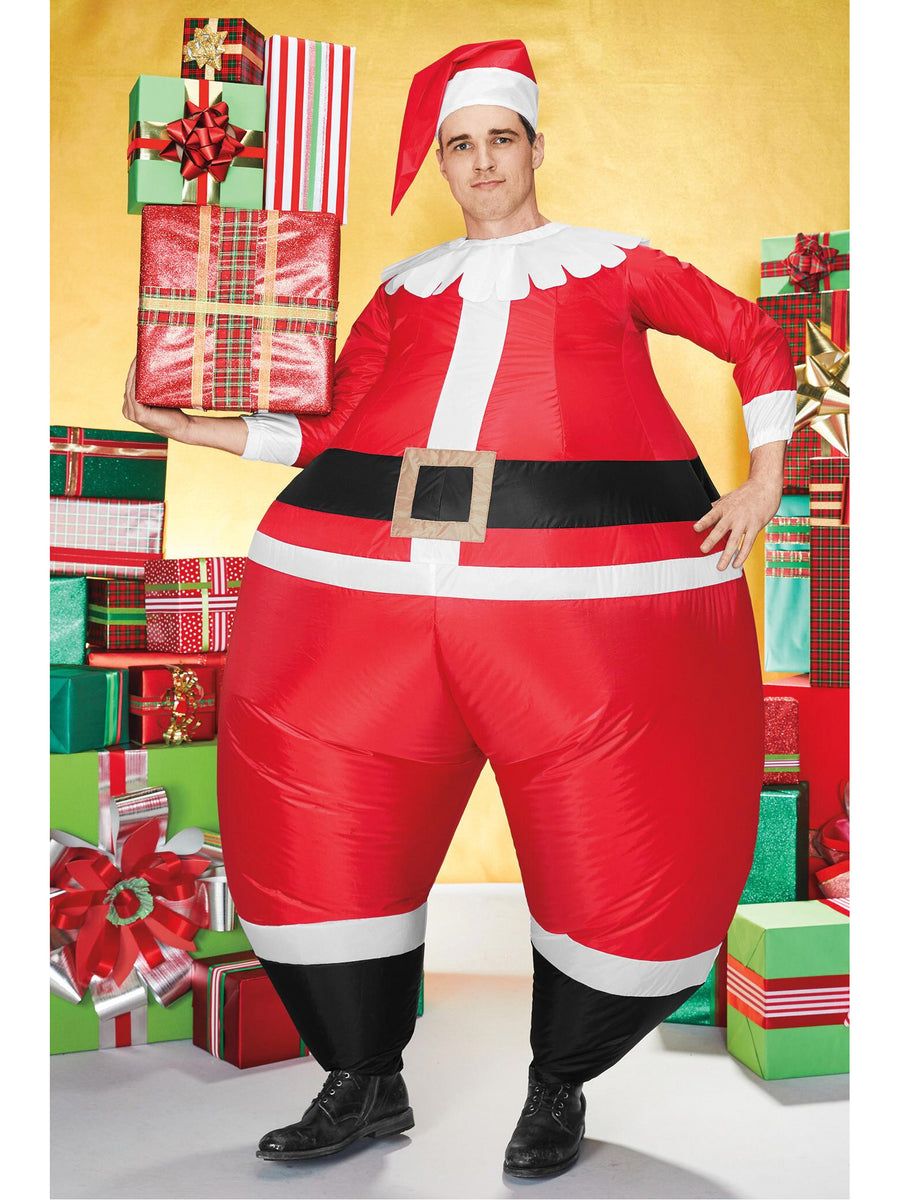 Inflatable Santa Costume for Adults