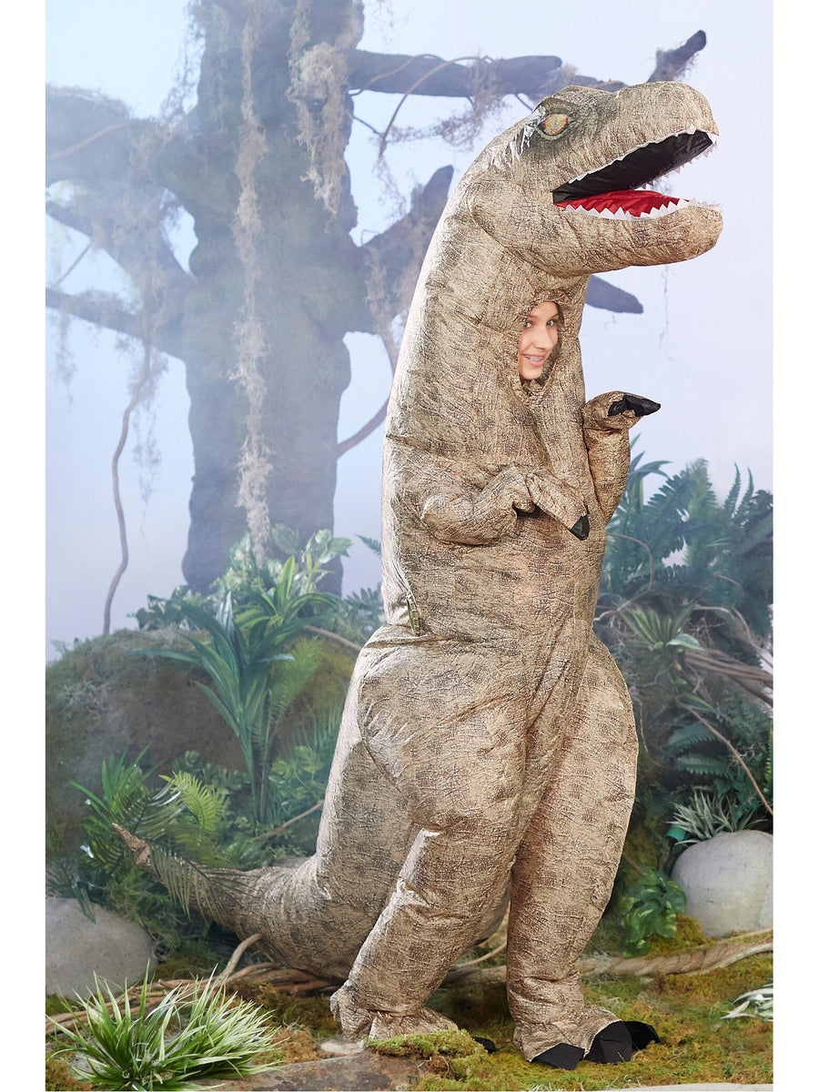 Inflatable T. Rex Costume for Kids