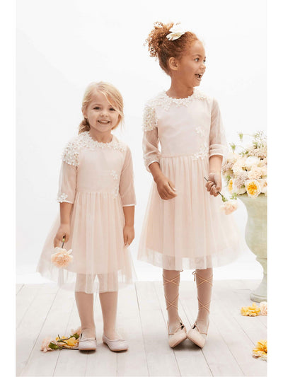 Isabel Garreton® Girls Blush Blossom Dress  lpi alt1
