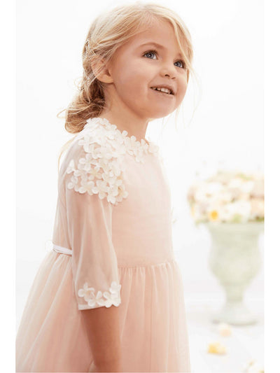 Isabel Garreton® Girls Blush Blossom Dress  lpi alt3