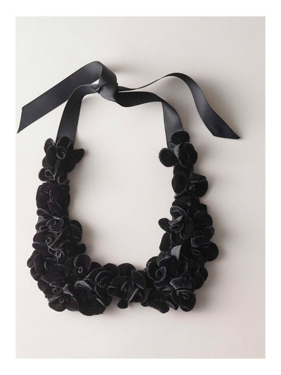 Girls Isabel Garreton® Velvet Flower Collar