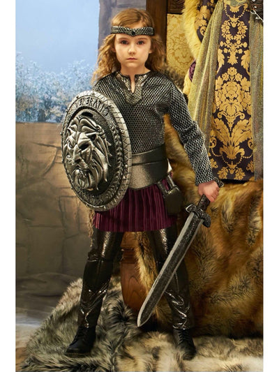 Joan of Arc Costume for Girls  brp alt1