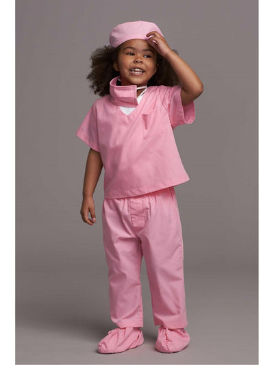 Jr. Doctor Scrubs Costume For Kids  pin 1