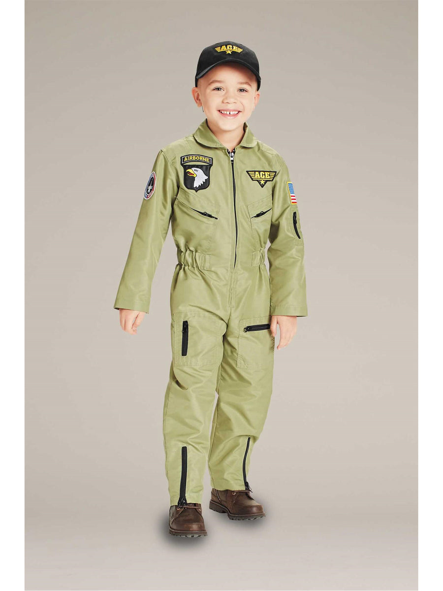 Jr. Fighter Pilot Costume For Kids