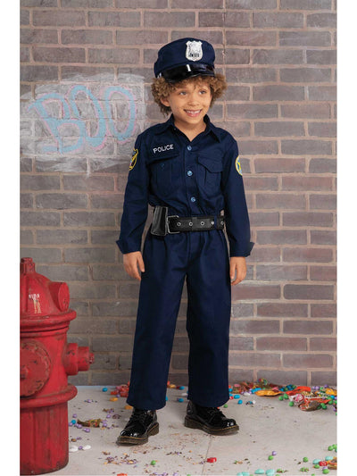 Jr. Police Officer Costume For Kids