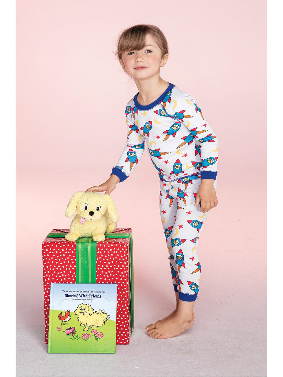 Kids Brian the Pekingese Rocket PJ's
