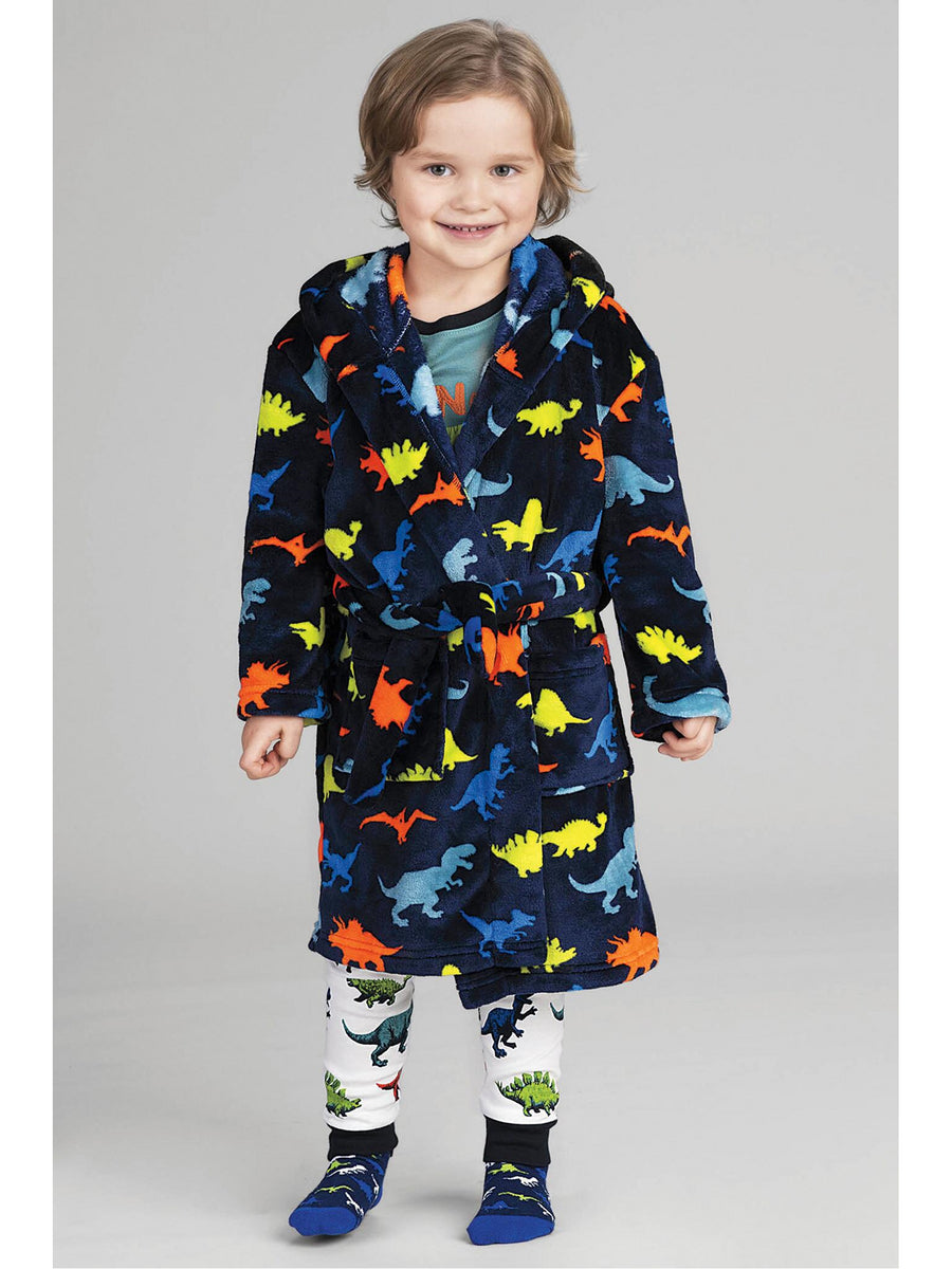 Kids Dinosaur Robe
