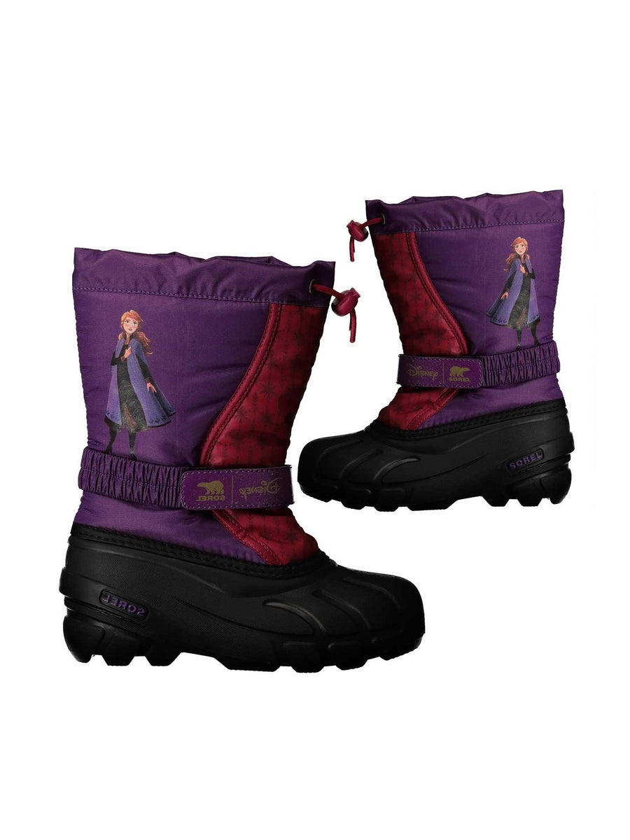 Kids Disney x SOREL Flurry™ Frozen 2 Anna Boots