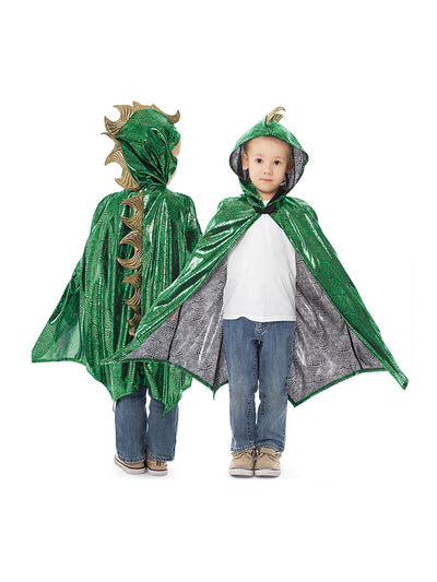Kids Dragon Cloak  green 1