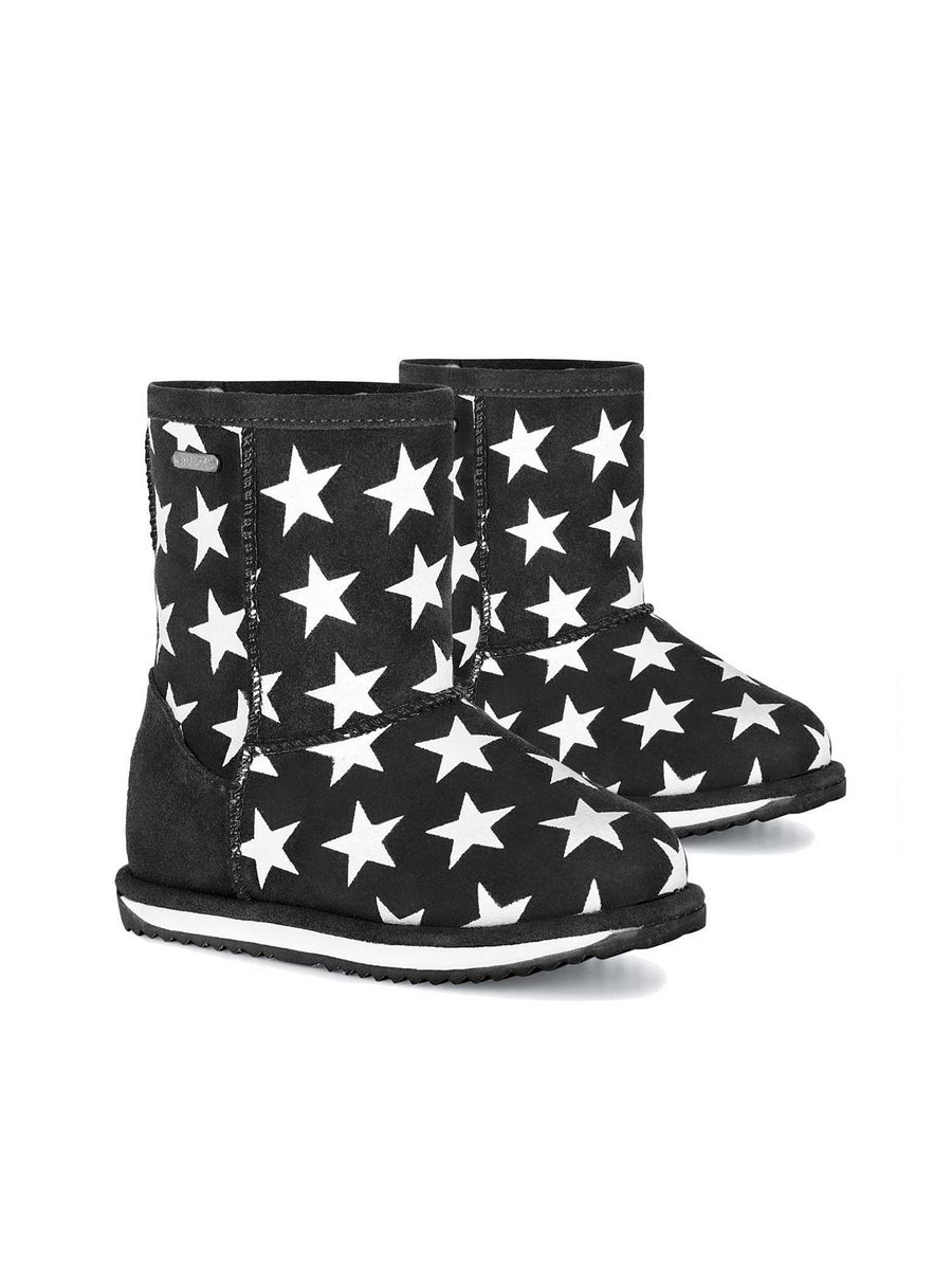 Kids EMU Australia® Glow in the Dark Star Boots