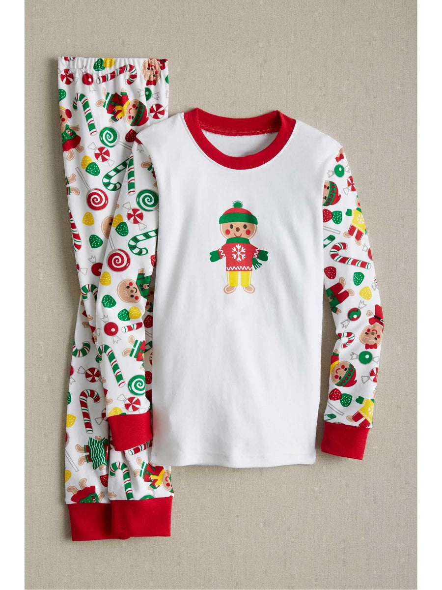 Kids Gingerbread Pj's