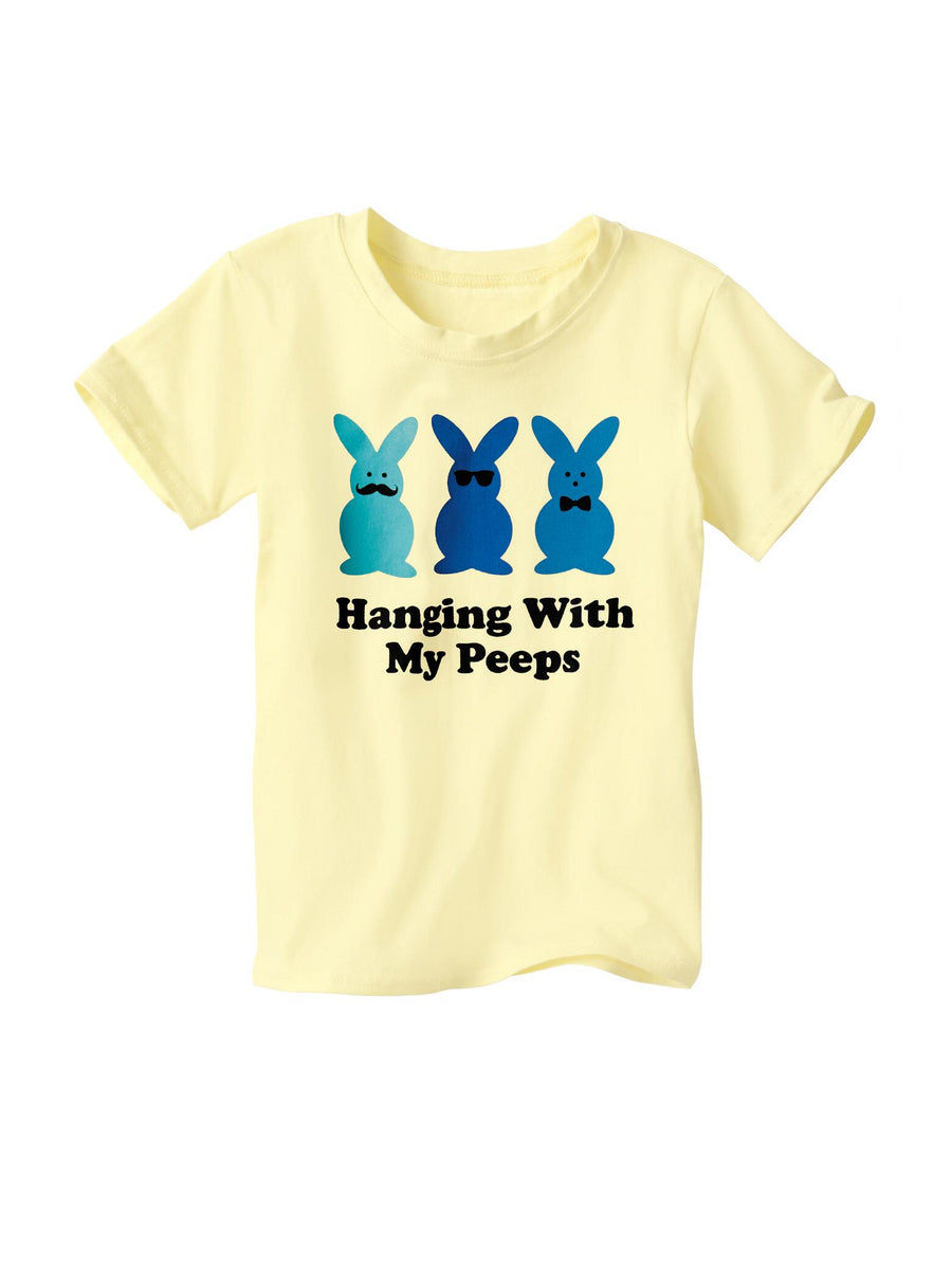 Kids Hanging with My Peeps Tee