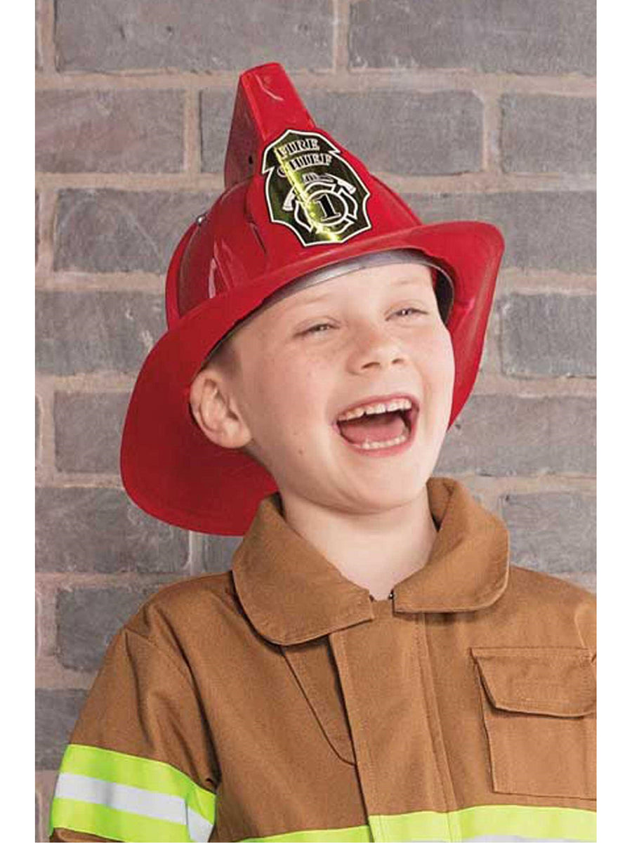 Kids Lights & Siren Sound Firefighter Helmet