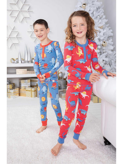 Kids Monster Mash PJ's  blue alt1