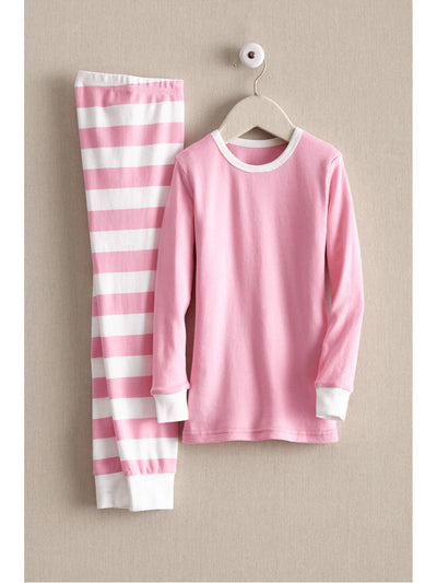 Kids Pastel Stripe Pj's  pin 1