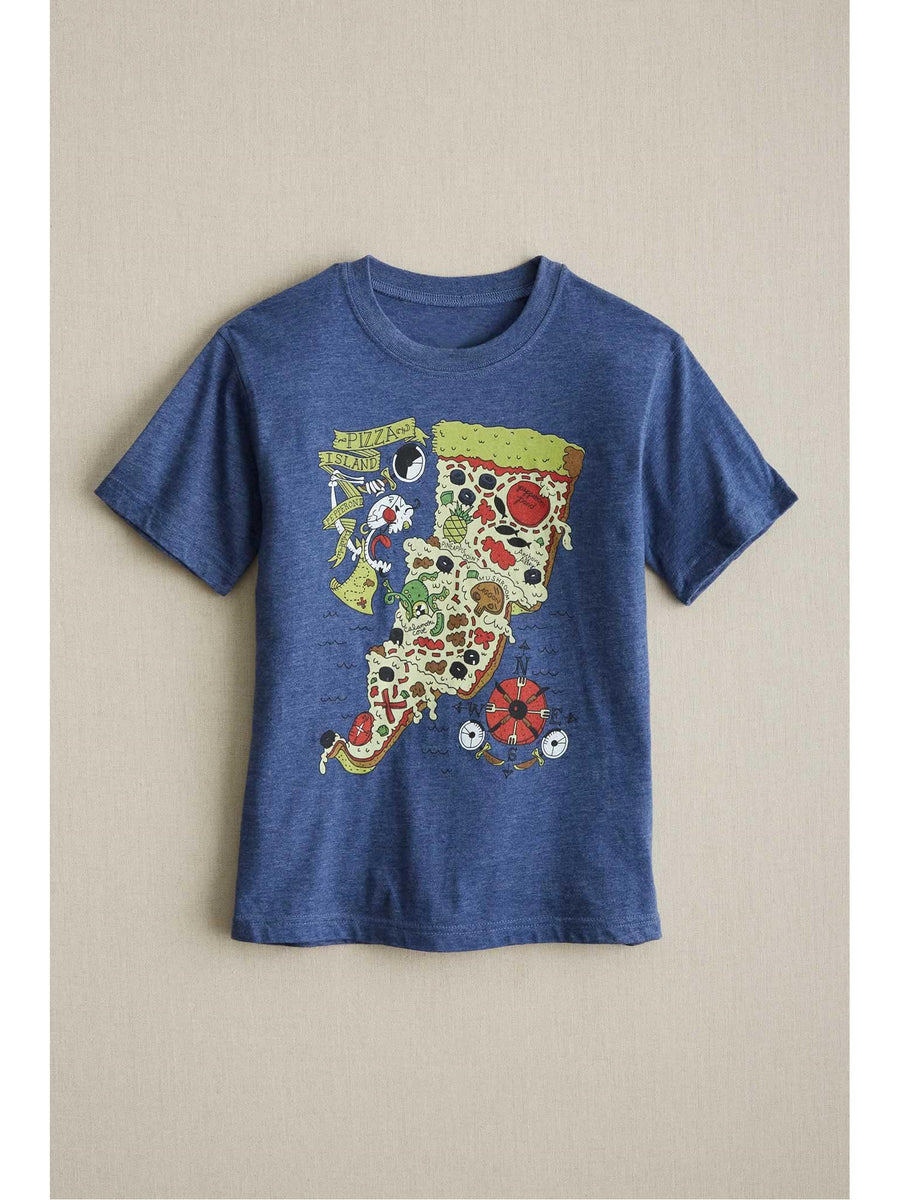 Kids Pizza Island Tee