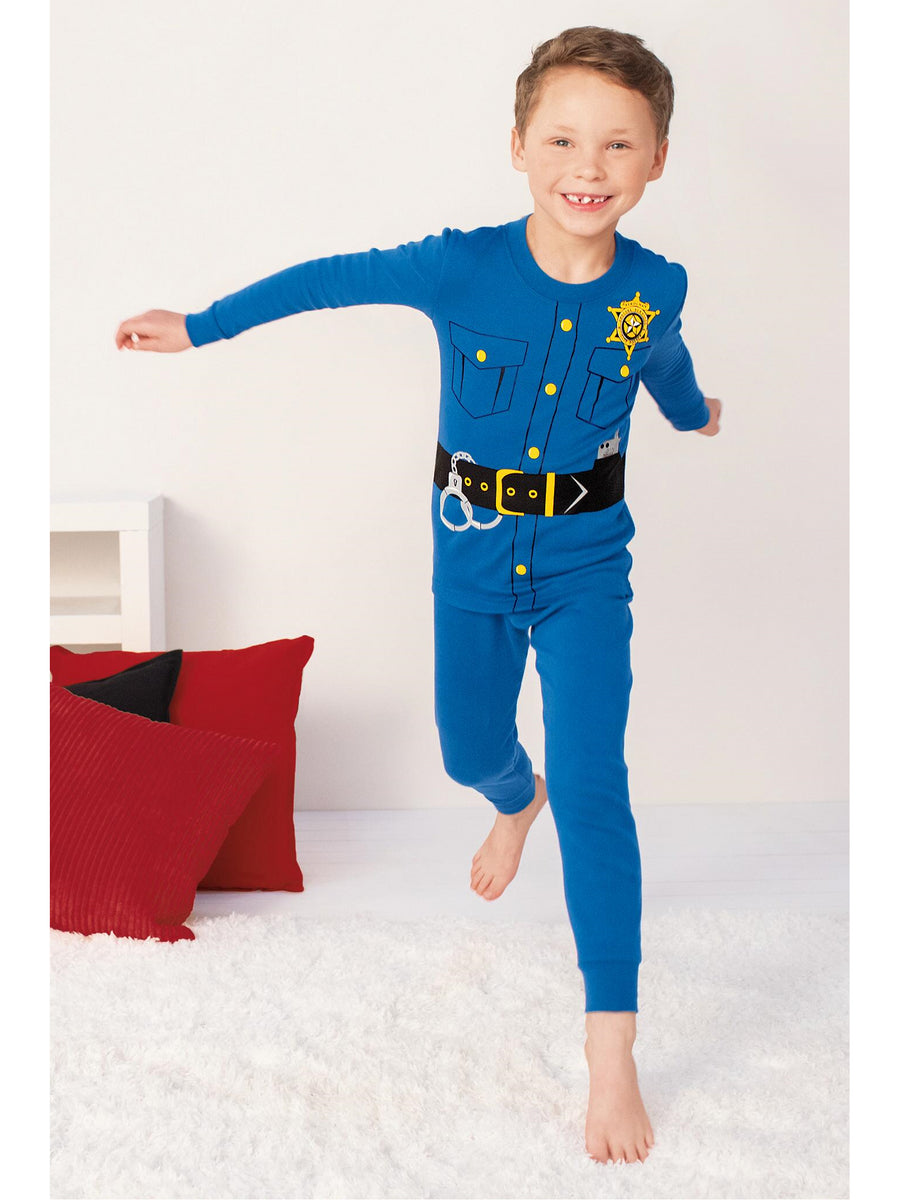Kids Police Officer PJ's