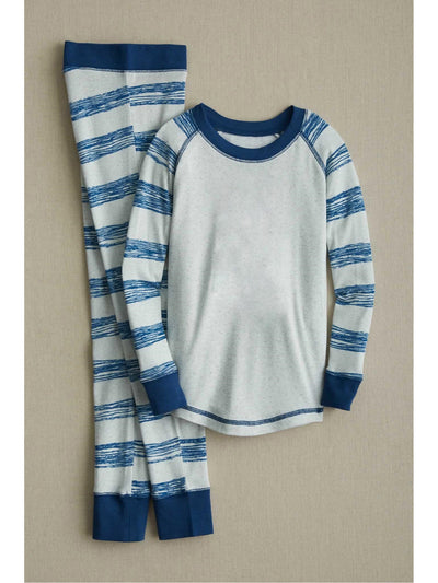 Kids Sketchy Stripe PJ's