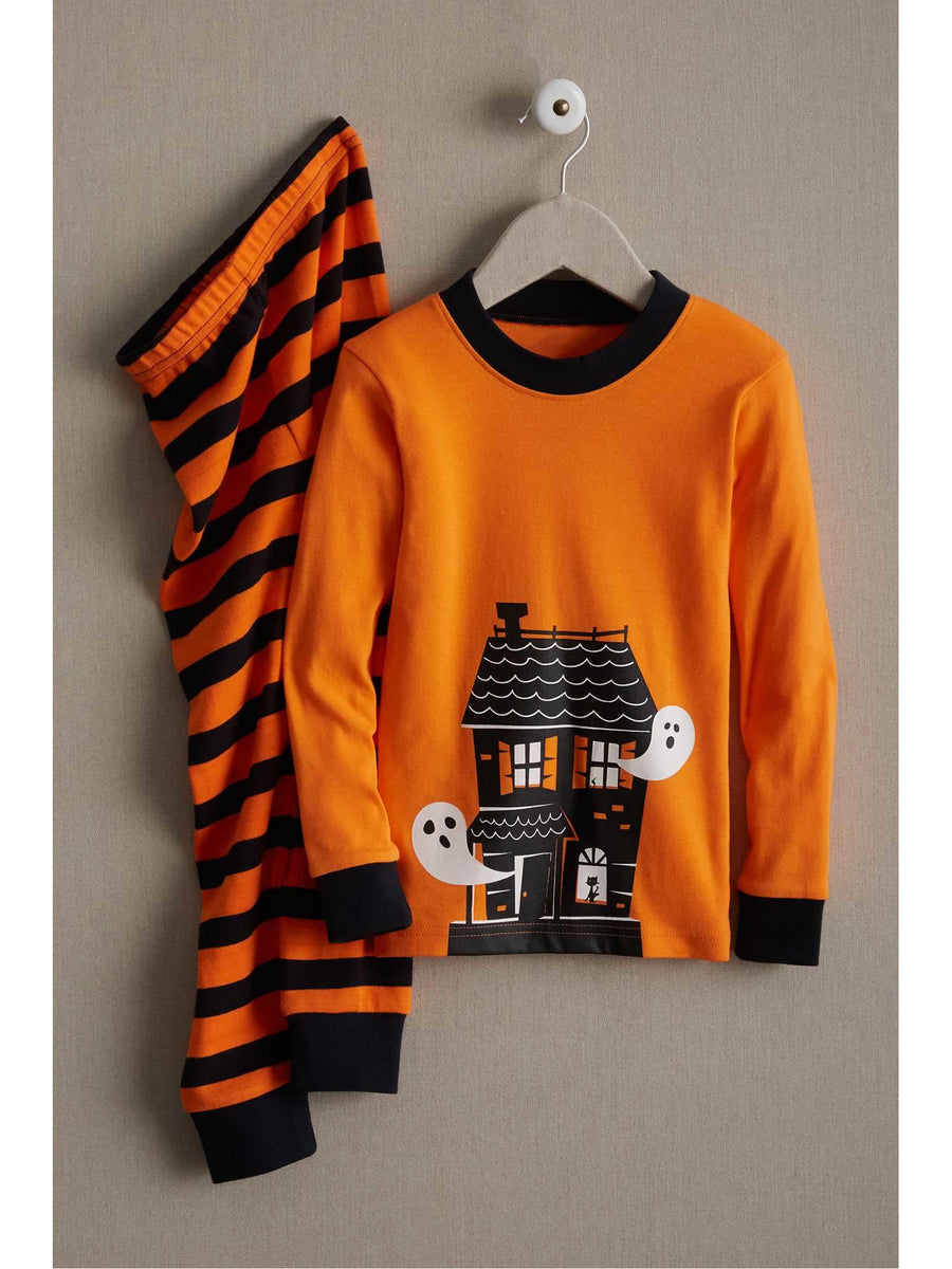 Kids Spooky House Pj's